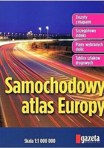 Okładka książki Samochodowy atlas Europy. 1:1 000 000