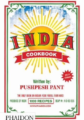 Okładka książki India Cookbook