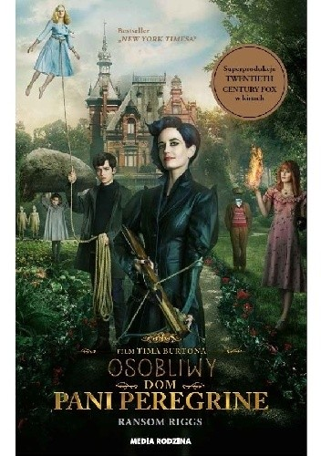 Okładka książki Osobliwy dom pani Peregrine