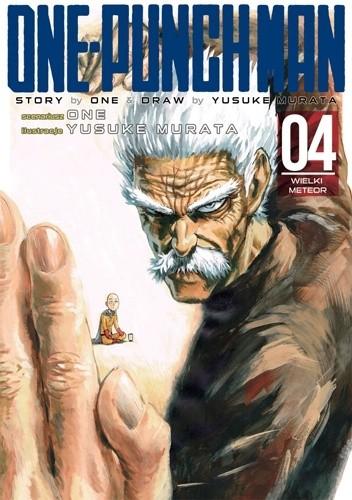 Okładka książki One-Punch Man tom 4 - Wielki meteor