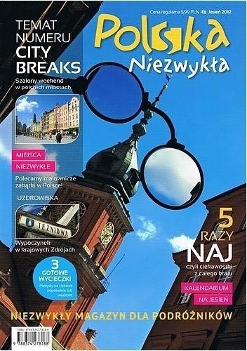 Okładka książki Polska Niezwykła. Jesień 2012