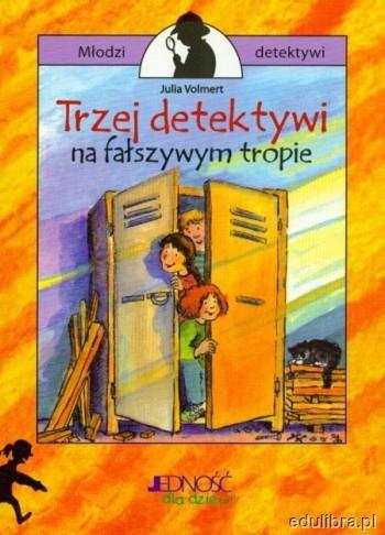 Okładka książki Trzej detektywi na fałszywym tropie