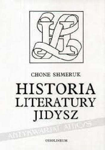 Okładka książki Historia literatury Jidysz