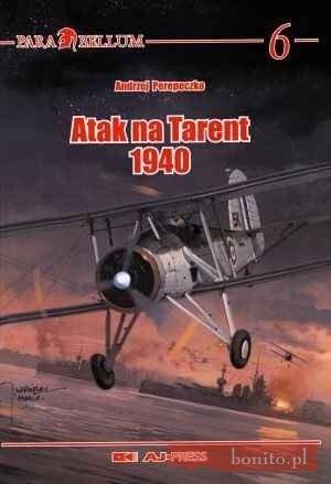 Okładka książki Atak Na Tarent 1940
