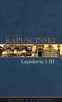 Okładka książki Lapidaria I-III