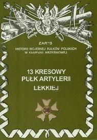 Okładka książki 13 Kresowy Pułk Artylerii Lekkiej