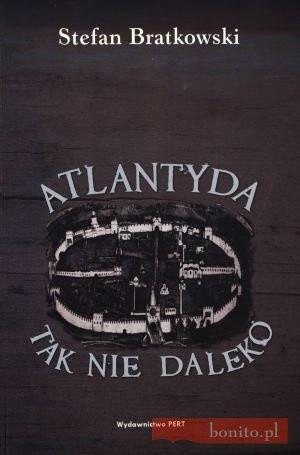 Okładka książki Atlantyda tak niedaleko