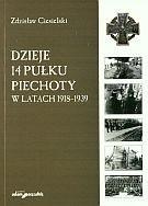 Okładka książki Dzieje 14 Pułku Piechoty w latach 1918-1939