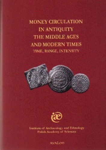 Okładka książki Money Circulation in Antiquity, The Middle Ages and Modern Times