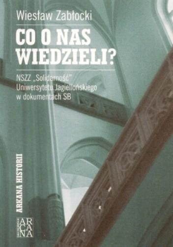 Okładka książki Co o nas wiedzielia