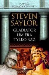 Okładka książki Gladiator umiera tylko raz