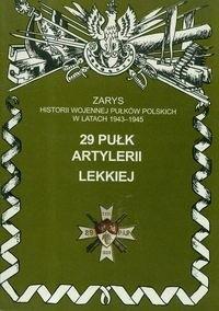 Okładka książki 29 Pułk Artylerii Lekkiej