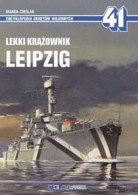 Okładka książki Lekki krążownik Leipzig