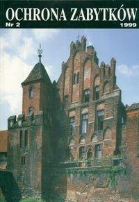 Okładka książki Ochrona zabytków 1999 Nr 2