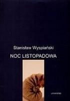Okładka książki Noc listopadowa