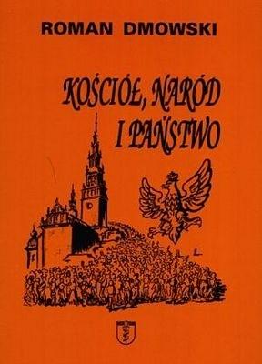 Okładka książki Kościół, naród i państwo