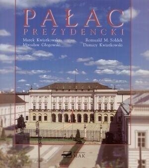 Okładka książki Pałac Prezydencki