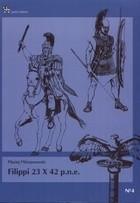Okładka książki Filippi 23 X 42 p.n.e.