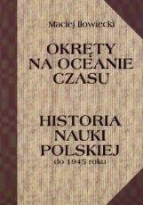 Okładka książki Okręty na oceanie czasu