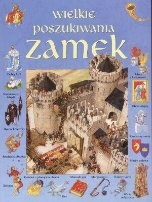 Okładka książki Wielkie poszukiwania. Zamek