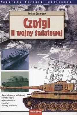 Okładka książki Czołgi II wojny światowej