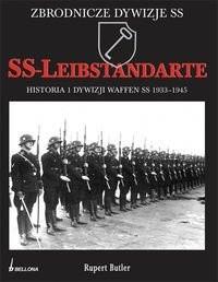 Okładka książki SS-Leibstandarte historia 1. Dywizji Waffen SS 1939-1945