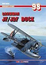 Okładka książki ML 98 Grumman JF/J2F Duck