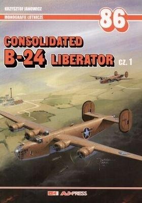 Okładka książki Consolidated B-24 Liberator cz.1