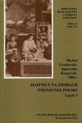 Okładka książki Złotnicy na ziemiach północnej Polski