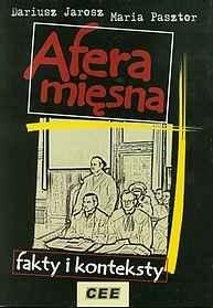 Okładka książki Afera mięsna - fakty i konteksty