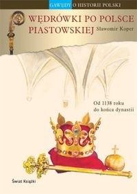 Okładka książki Wędrówki po Polsce piastowskiej