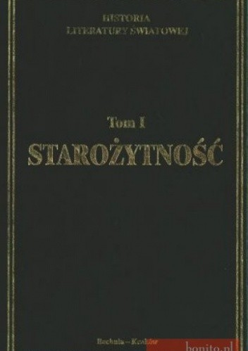 Okładka książki Historia lit.świat.1