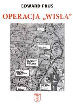 """Okładka książki Operacja """"Wisła"""""""