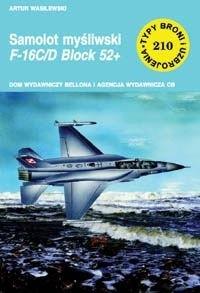 Okładka książki Samolot myśliwski F-16C/D Block 52+