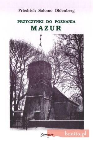Okładka książki Przyczynki do poznania Mazur