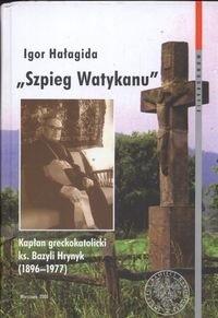Okładka książki Szpieg Watykanu