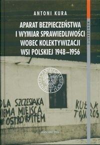 Okładka książki bezpieczeństwa i wymiar sprawiedliwości wobec kolektywizacji wsi polskiej