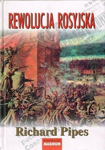 Okładka książki Rewolucja rosyjska