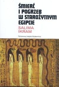Okładka książki Śmierć i pogrzeb w starożytnym Egipcie