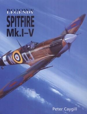 Okładka książki Spitfire Mk.I-V