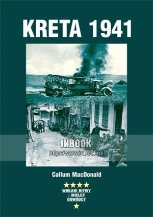 Okładka książki Kreta 1941 - Callum MacDonald