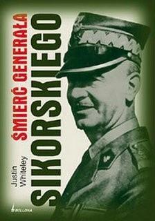 Okładka książki śmierć generała Sikorskiego