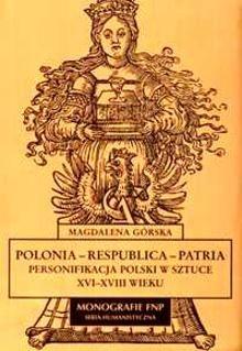 Okładka książki Polonia - Respublica - Patria