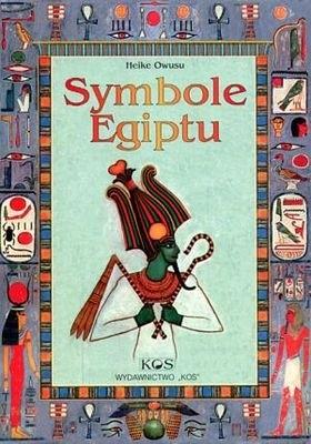 Okładka książki Symbole Egiptu