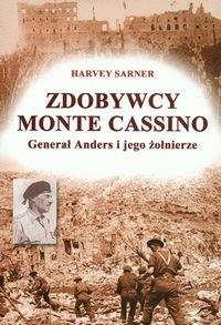 Okładka książki Zdobywcy Monte Cassino. Generał Anders i jego żołnierze
