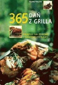 Okładka książki 365 dań z grilla