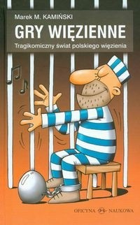 Okładka książki Gry więzienne