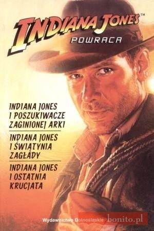 Okładka książki Indiana Jones powraca
