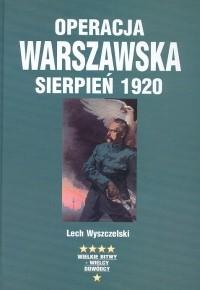 Okładka książki Operacja warszawska sierpień 1920