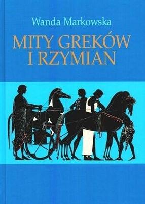Okładka książki Mity Greków i Rzymian